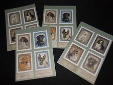 CUTE DOG TOPPERS HANDMADE CARDS.BIRTHDAY/FATHERS DAY.CARDMAKING,SCRAPBOOKING