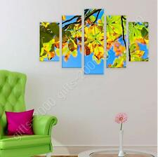 Synthetic CANVAS  Split 5 panels Horse Chestnut Tree 5 Panels poster gallery