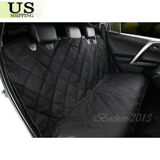 Car Pet Dog Back Seat Cover Protector Non-Slip SUV Auto Soft Padded Bench Mat