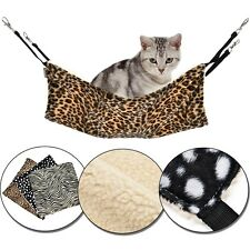 Pet Cat Hang On Hammock Bed Soft Mat Kitten Cat Sleeping Hammock Cat Litter Bed