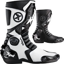 Spidi VR6 Mens Street Riding Racing Motorcycle Boots