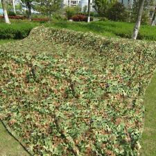 2016 camping hunting Jungle Camo netting Cover camouflage net Woodlands Leaves