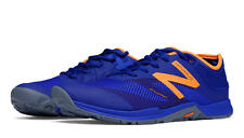 New Balance MX20PI5 Minimus 20v5 Trainer Shoes, Blue with Orange