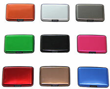 Aluminum Wallet Credit Card Holder Case for Men & Women With RFID Protection