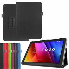 Scratchproof Leather Kickstand Flip Case Cover Skin For Asus Zenpad 10 Z300C
