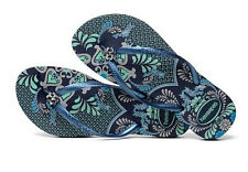Havaianas Women`s Flip Flops Sexy Slim Thematic Sandal Navy Blue Sizes 5-12 NWT