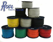 8mm Elastic Bungee Rope, Shock Cord, Tie Down, Various Lengths & Colours