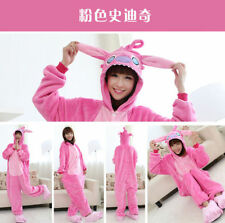 Hot Unisex Adult Kigurumi Pajamas Anime Cosplay Costume Onesie Sleepwear Stitch
