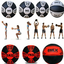 2KG - 10KG Medicine Ball Crossfit Strength Gym Fitness Boxing With Free Gift