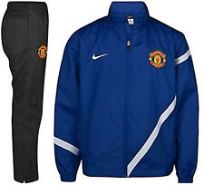NIKE MANCHESTER UNITED YOUTH SIDELINE WOVEN WARM UP TRACKSUIT
