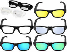 NEW FULL HD 1080p 5MP SPY VIDEO CAMERA GLASSES TINTED/CLEAR LENS READING FRAMES