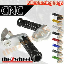 Multi Step Position Adjustable Foot Pegs FRONT TRIUMPH SPEED TRIPLE T509 05-10