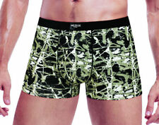 1 x Pair Mens Natural Bamboo Fibre Wide Band Boxers 3 Colours Available