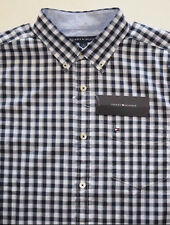 Tommy Hilfiger Short Sleeve Custom Fit Casual Shirt Retail: $49.50