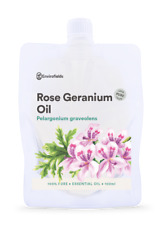 ROSE GERANIUM ESSENTIAL OIL - PURE -100ML - AROMATHERAPY GRADE** FREE SHIPPING**