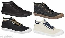 MENS DUNLOP VOLLEY HIGH LEAP CANVAS UX AUS SNEAKERS SHOES CASUAL