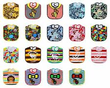 Cartoon Baby Infants Kid Boy Girl Children Water Resist  Saliva Towel Bib