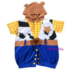 Woody Toy Story Fancy Party Costumes Jumpsuit Outfit Infant Boy Size 6-24m FC035