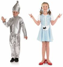 Childrens Wizard Of Oz  Fancy Dress Costumes Boy Girl Kids Book Week 4-12 Yrs