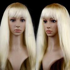 Fashion Full Wig Long Straight Wig 59cm Women Cosplay Party Costume Anime Hair