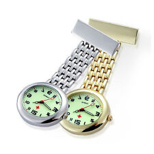 New Potable Luminous Dial Doctor Brooch Fob Quartz Cross Nurse Pocket Watch Gift