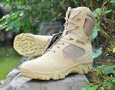 2 Color US Size 7-11 suede Combat Military Ankle Boots Mens Army fashion Shoes #