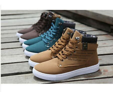 2016 Hot Men Shoes Fashion Spring Autumn Leather Shoe For Men Casual High Top