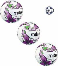 3 x MITRE MANTO V12S **HYPERSEAM** MATCH BALLS - Sizes 5 and 4