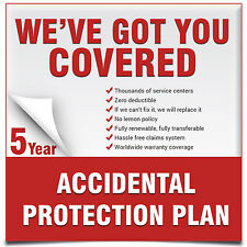 CPS 5 Year Extended Warranty for Digital Camera under $3000 + Accident Coverage