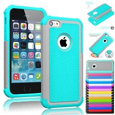 Shockproof Hybrid Rugged Rubber Silicone Hard Case Cover Skin for Apple iPhone5C