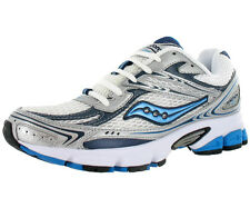 Saucony Grid Ignition 2 Athletic Womens Running Shoes White/silver/navy Sz