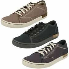 Mens Caterpillar Casual Lace Up Shoes, Intro Canvas