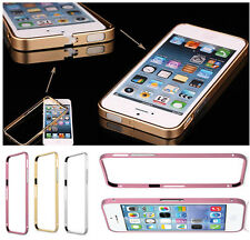 Aluminum Metal Protective Bumper Fitted Frame Hard Case Cover For iPhone 4 4S 5S
