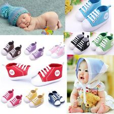 0-12Months New Infant Toddler Sneakers Baby Boy Girl Soft Sole Crib Shoes