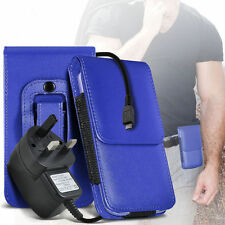 PU Leather Pouch Belt Holster & Mains Charger For Samsung I9300I Galaxy S3 Neo