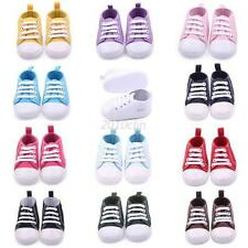 Toddler Kids Canvas Sneakers Baby Boy Girl Soft Sole Crib Shoes to 0-12Months