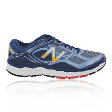 New Balance M860v6 Mens Blue Grey Support Running Sports Shoes Trainers