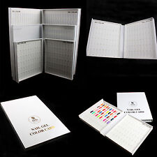 120/216/308 Color Nail Gel Polish Display Book Chart for Nail Art Salon practice