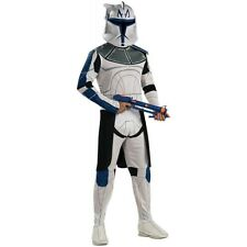 Clone Trooper Captain Rex Costume Adult Star Wars Stormtrooper Fancy Dress