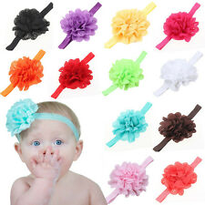 Children's Hairband With Wavy Edges Hollow Elastic Hairhoop Candy Color For Baby