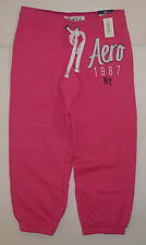 Womens AEROPOSTALE NY 1987 Heritage Capri Fleece Sweat Pants size XS NWT #5497