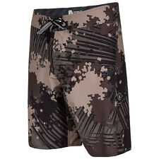 Volcom Men's Lido Solid Mod 20 Inch 4-Way Stretch Boardshorts - SS16: Camo