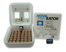 HovaBator Egg Incubator | IncuTurn Automatic Turner | Digital Thermometer & Hyg