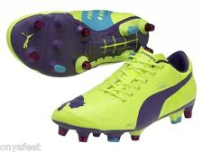 MENS PUMA EVOPOWER 1 MIXED SOFT GROUND MENS INDOOR FUTSAL FOOTBALL BOOTS SHOES