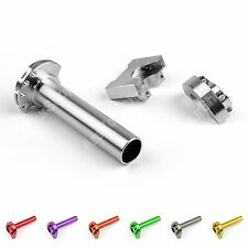 CNC Aluminum Twist Throttle For Moped Scooter Street Motorcycle Bike Multi-color
