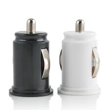 Car Charger Adaptor Mini Bullet Dual USB 2-Port For iPhone 6 6S Plus Samsung LG