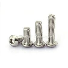 #6-32UNC Button Head Hex Socket Screws A2 Stainless Steel