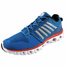 K Swiss Mens X-Lite Premium Running Shoes Gym Trainers Blue *AUTHENTIC*