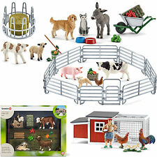 Schleich Stall Farm Animals Chicken Stall Pet Zoo select 1 Piece new