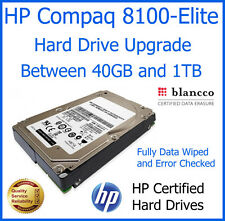 HP Compaq 8100-Elite Internal SATA Computer PC Hard Drive Upgrade 40GB to 1TB